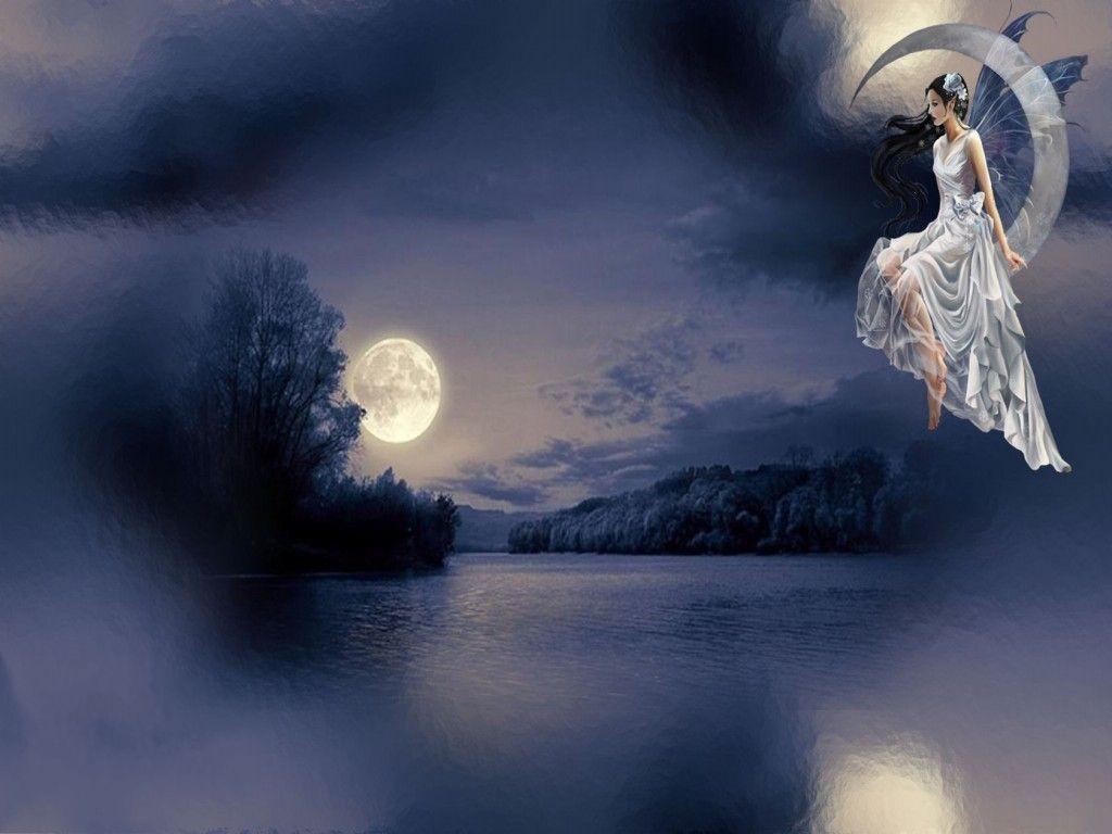 Moon Fairy Angel Wallpaper Angel Pictures Moon Fairy Fairy Wallpaper