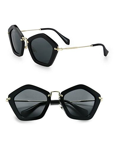 f94443e792acb Extreme Star Square Sunglasses by  Miu Miu   Fashion  Accessories ...