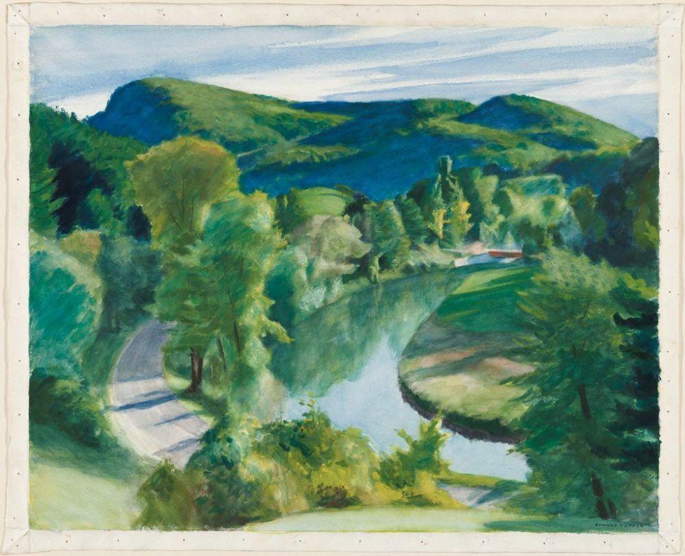 Edward Hopper Edward Hopper Art Paysage Peinture Paysage