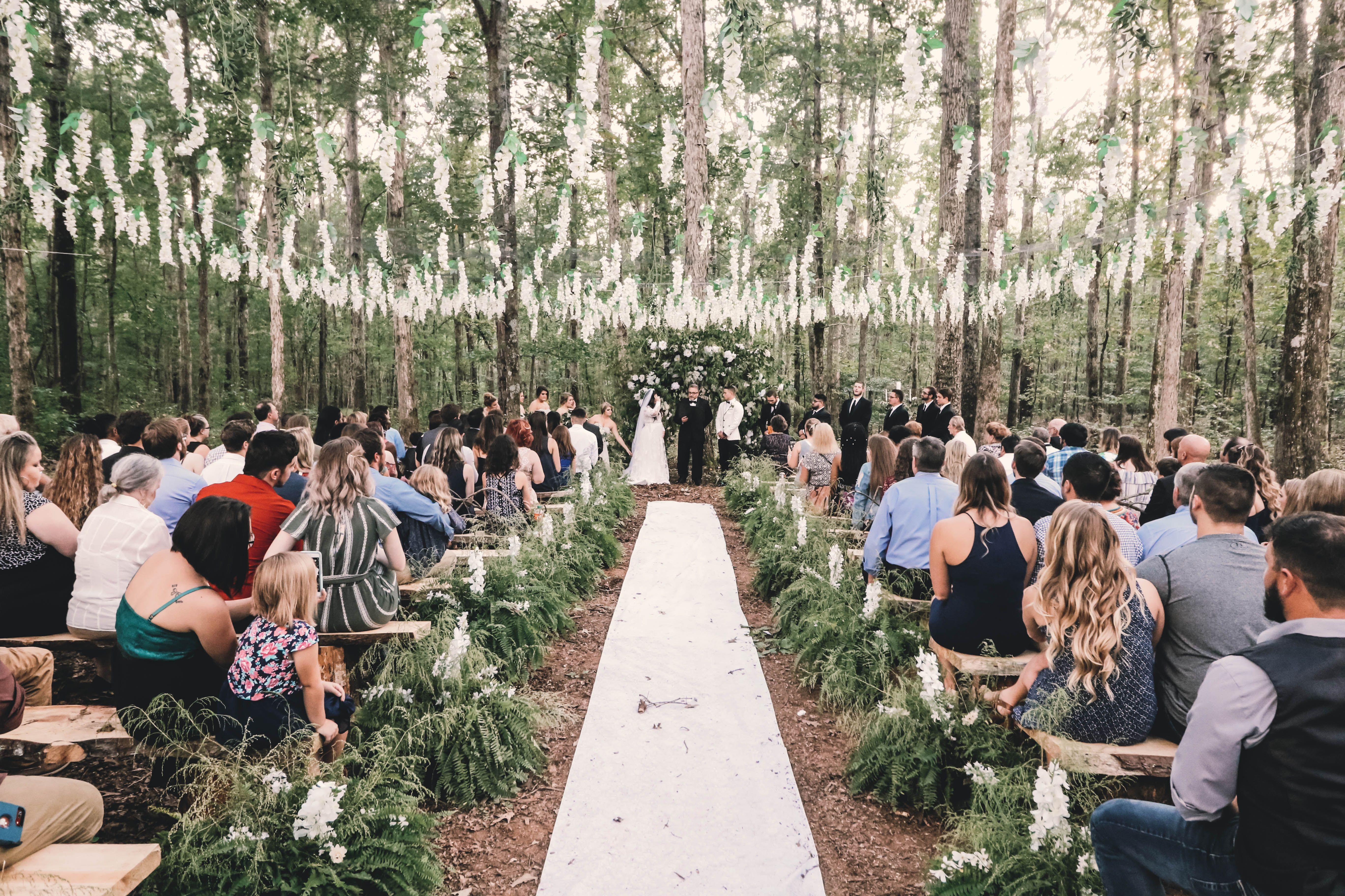 Twilight Wedding Twilight Wedding Outdoor Wedding Romantic Outdoor Wedding