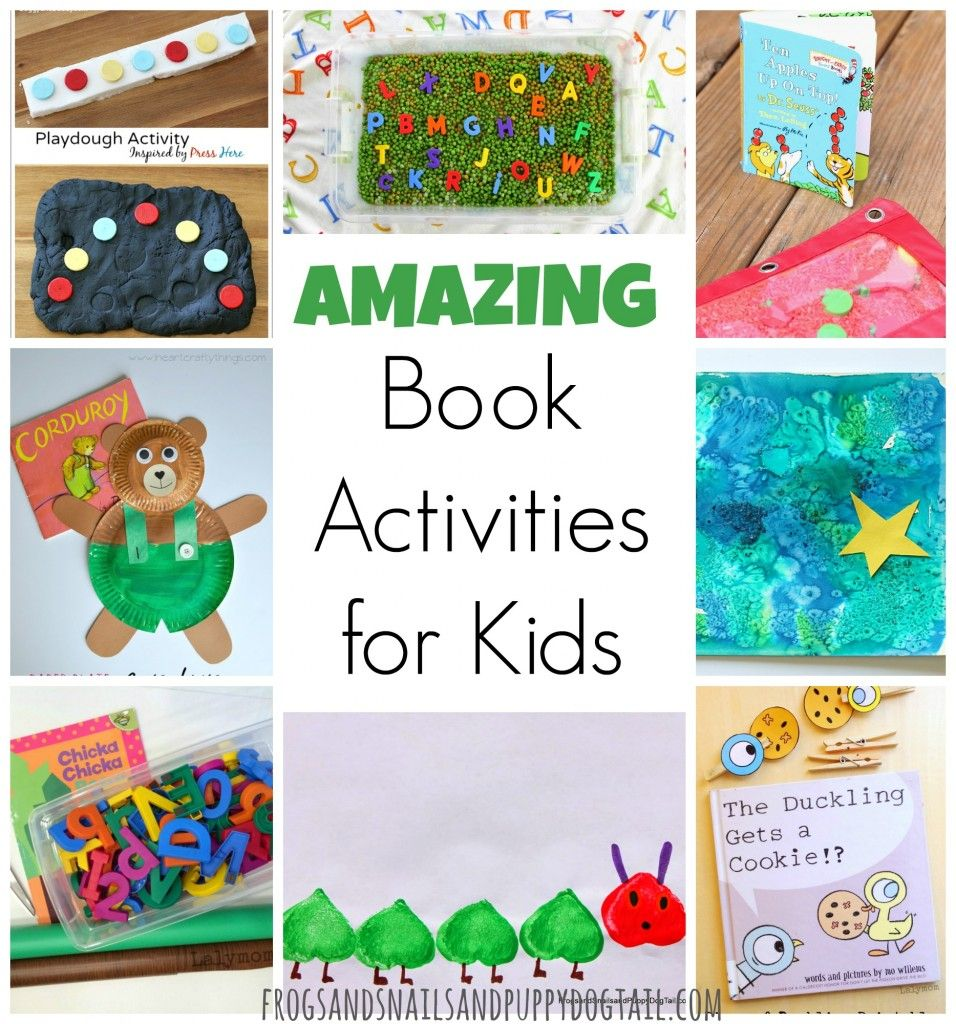 Amazing Book Activities for Kids | Activities for kids ...
