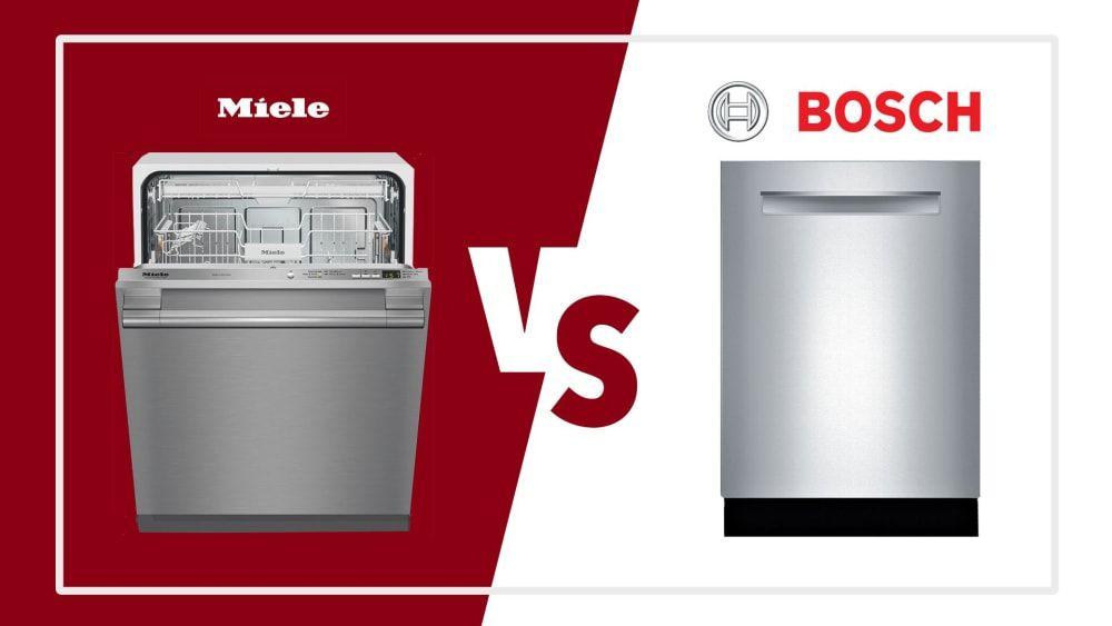 Bosch Vs Miele Dishwashers Best Cleaning Performance Elegant Design Miele Dishwasher Miele Modern Dishwashers
