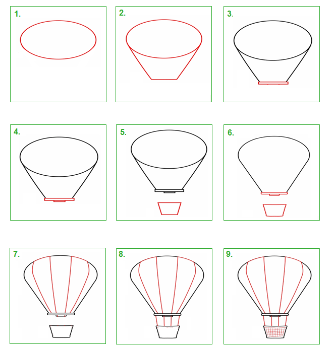 Schoolwiz hoe teken je een luchtballon tekenen met kinderen pinterest luchtballon - Hoe sluit je een pergola ...