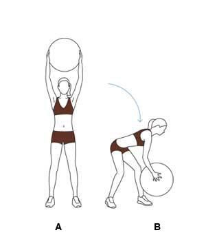 15-Minute Full-Body Exercise-Ball Workout #exerciseball