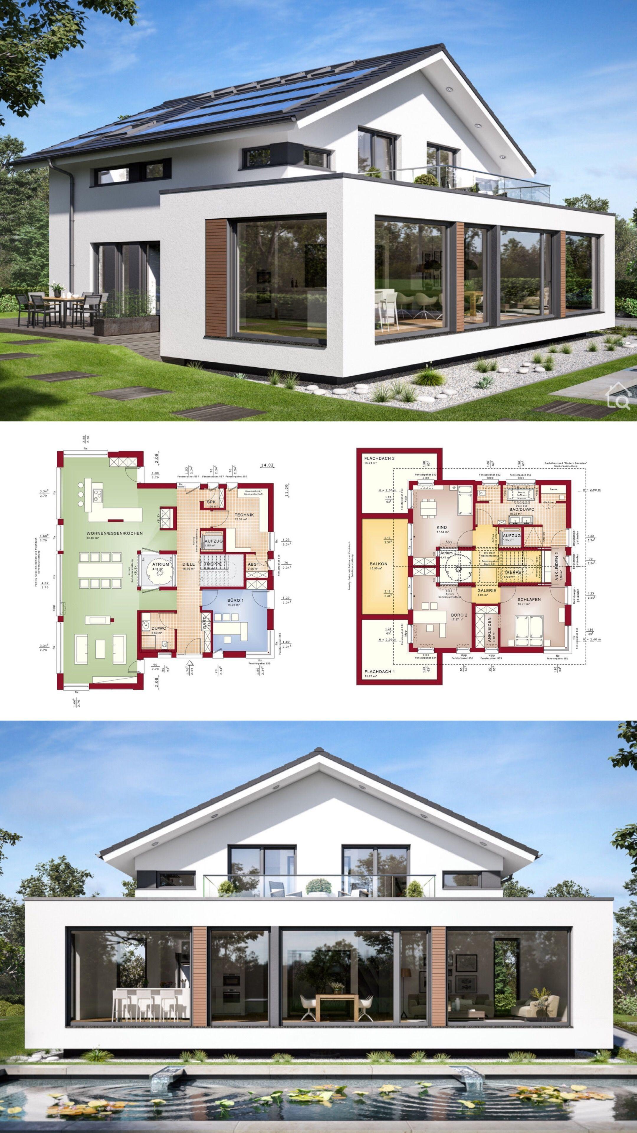 Modernes Haus Concept M 210 Gunzburg Bien Zenker Hausbaudirekt De Arc In 2020 Residential Architecture Plan Interior Architecture Design Architecture Design Concept