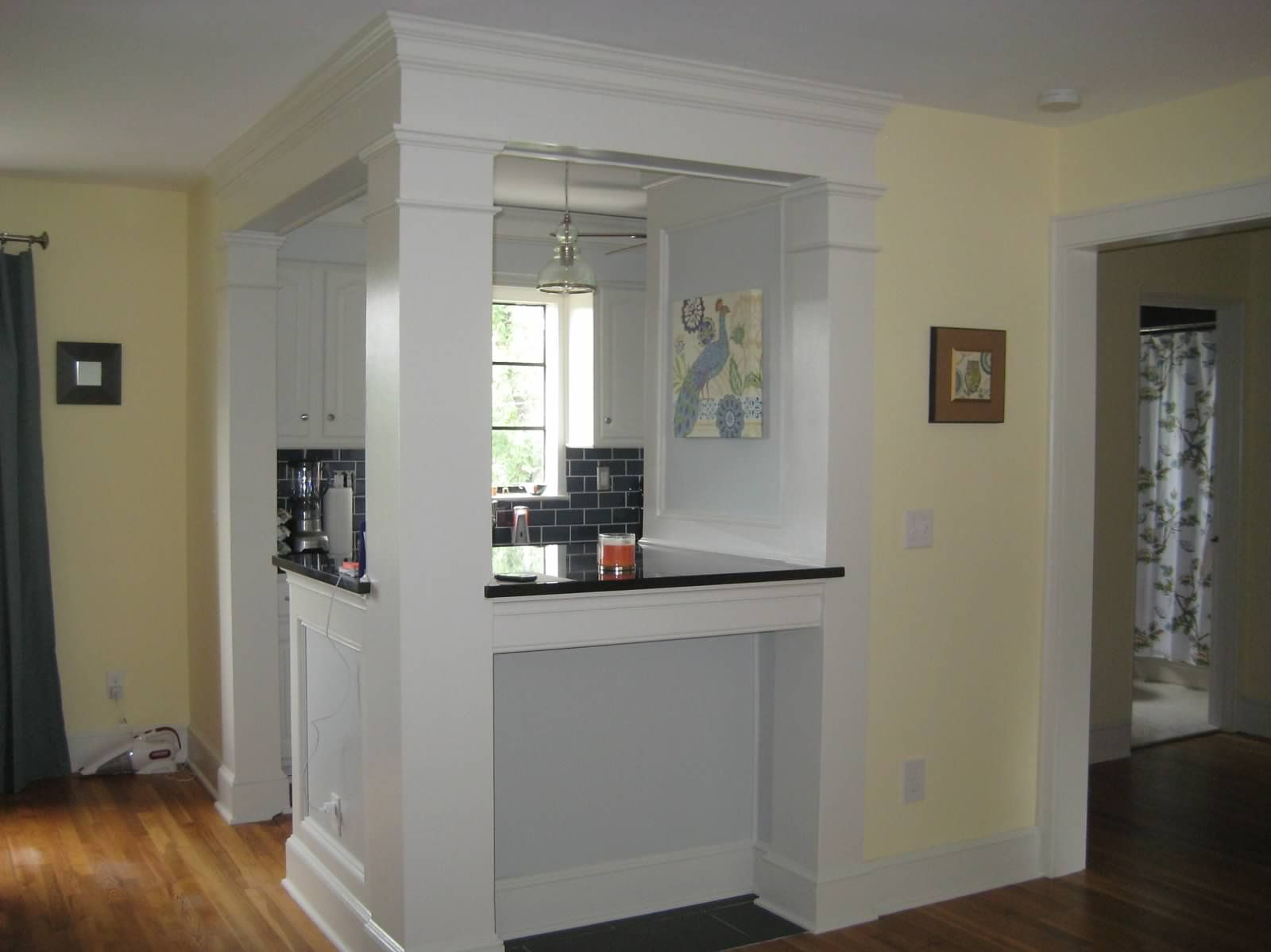 Galley Kitchen Designs With Breakfast Bar galley kitchen turned into breakfast bar | home | pinterest