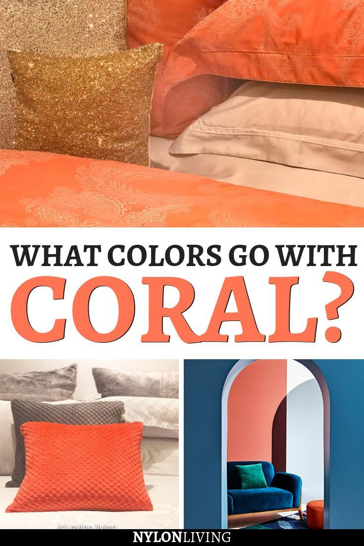 Get To Known The Colors that Go With Coral