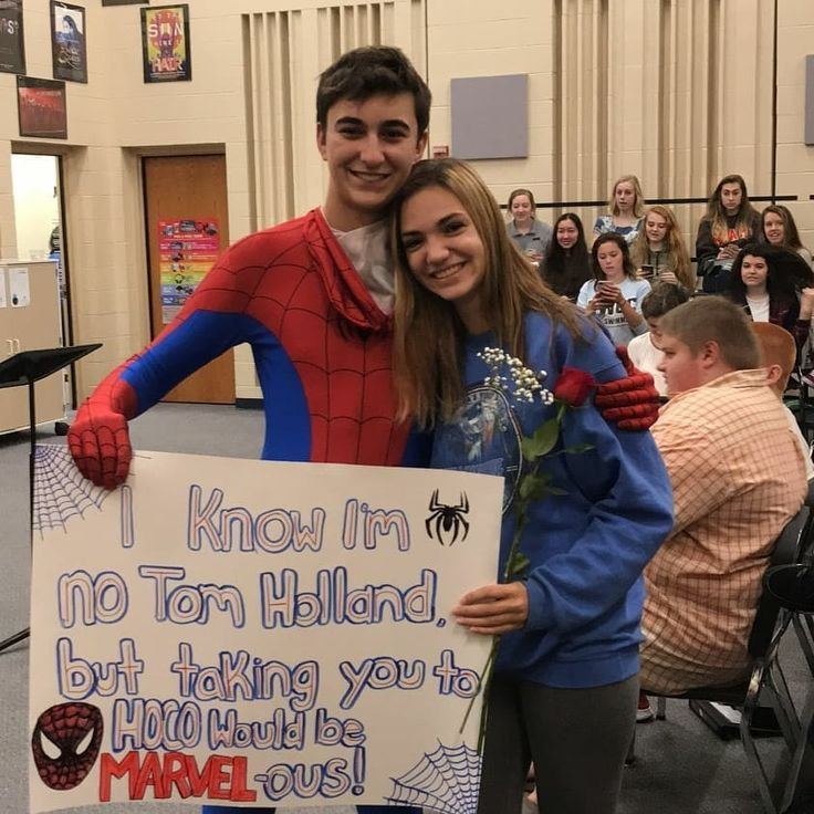 Homecoming Proposal Spiderman #homecomingproposalideas