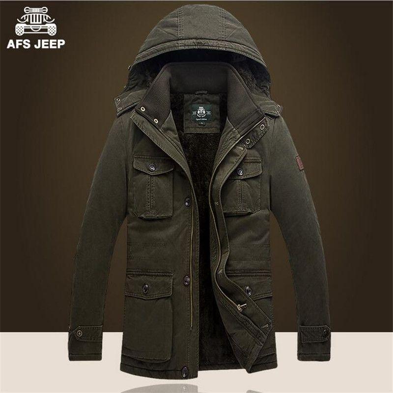 click to buy << afs jeep 5xl/6xl/7xl plus size man's winter coat