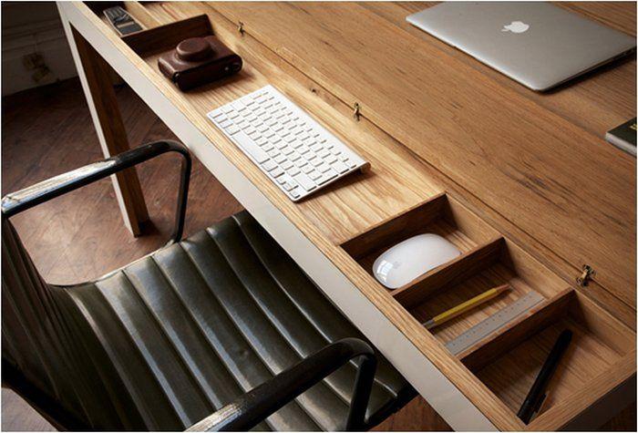 Tribeca Desk Minimalistischer Schreibtisch Dertypvonnebenan De Minimalistischer Schreibtisch Schreibtisch Schreibtisch Holz