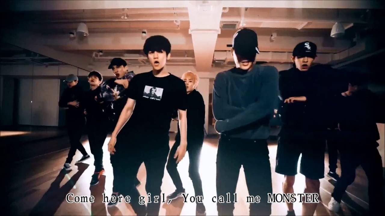 Exo Monster Dance Practice Ver Korean VerE B B E BfE Ae AempatE BE B Ad E Ad