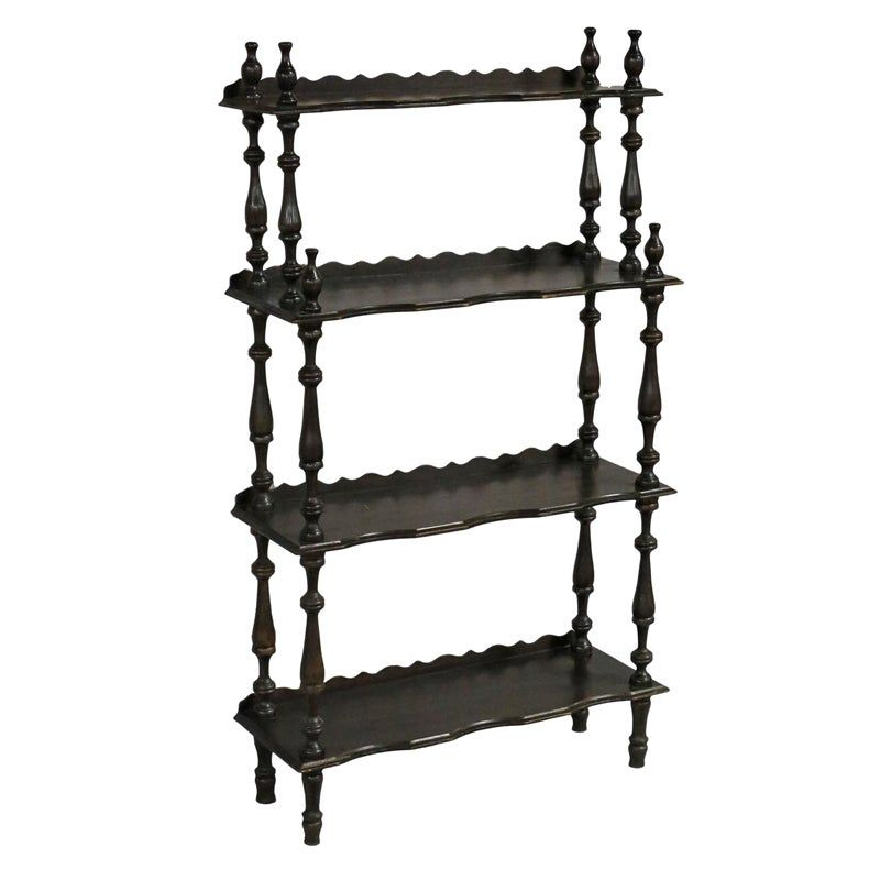 Etagere Vintage Family Dining Rooms Traditional House