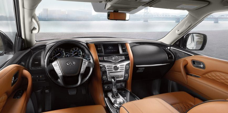 2019 Infiniti Qx80 Luxury Suv Interior Luxury Suv Infiniti Usa Infiniti