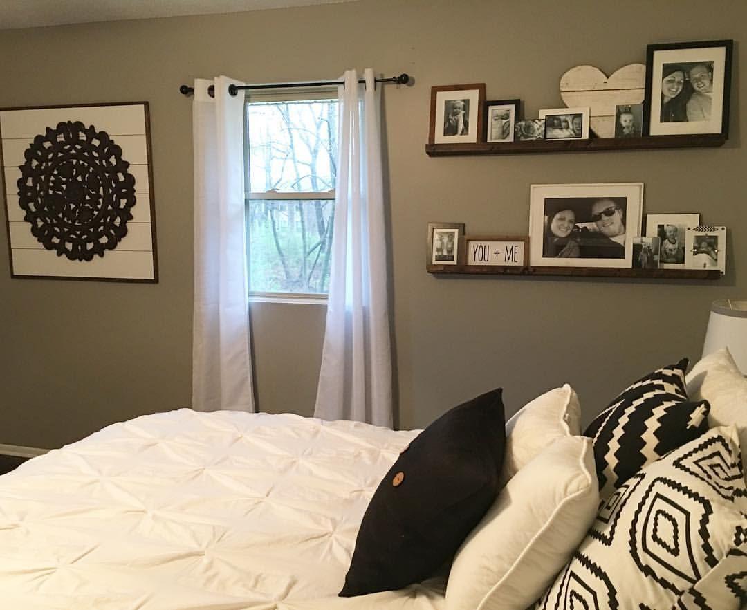 Master Bedroom Decor, DIY Decor, Black and White Decor ...