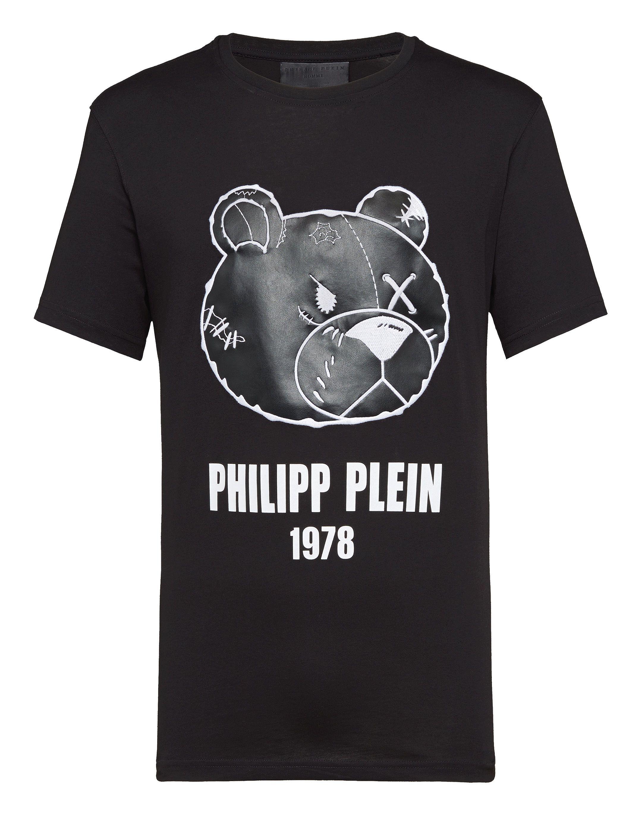 ec54bd83e0 T-shirt Round Neck SS kimono Teddy Bear | Philipp Plein | T Shirt ...