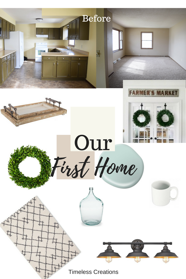 Introducing: Our First Home | Easy diy projects, Front doors and ...