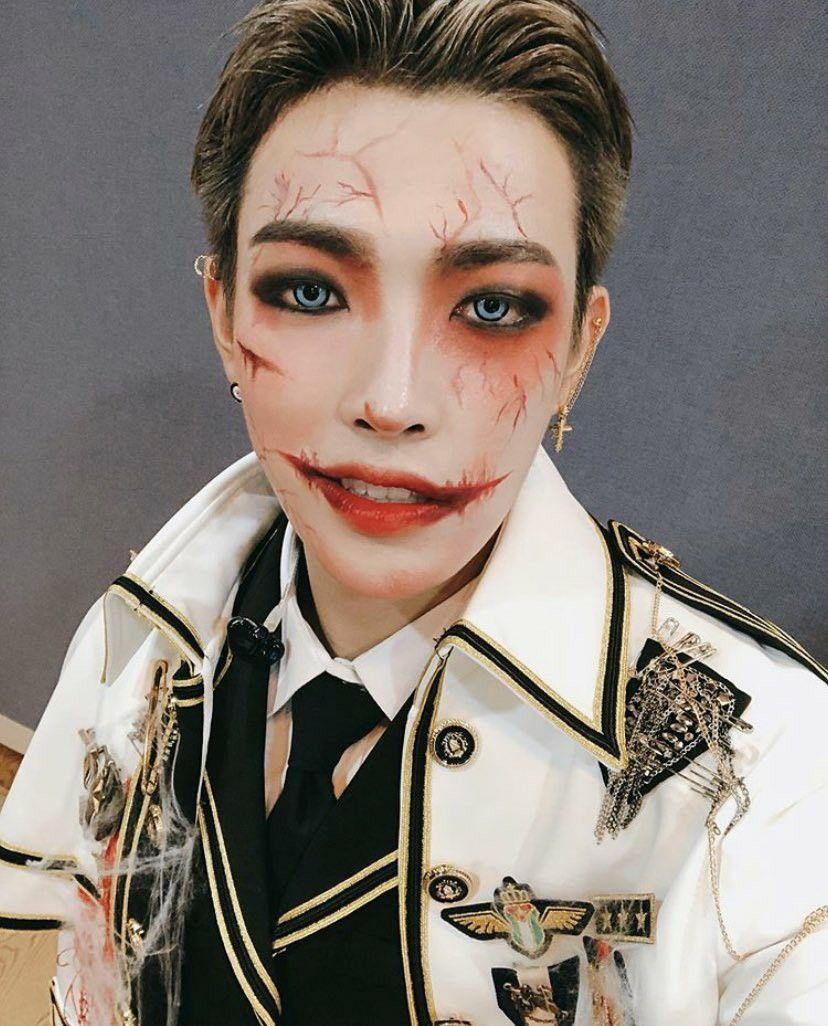 Ateez Instagram Update Happy Halloween HongJoong Kim