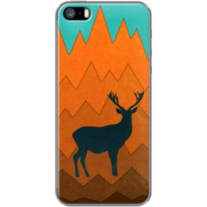 Deer silhouette in autumn By EDrawings38 for                           Apple  iPhone 5/5s