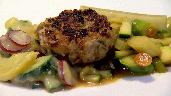 Das Bild Zeigt Eine Fleischpflanzerl Mit Warmem Kartoffelsalat Bildquelle Wdr Fleischpflanzerl Rezepte Mit Frikadellen Lecker Kochen
