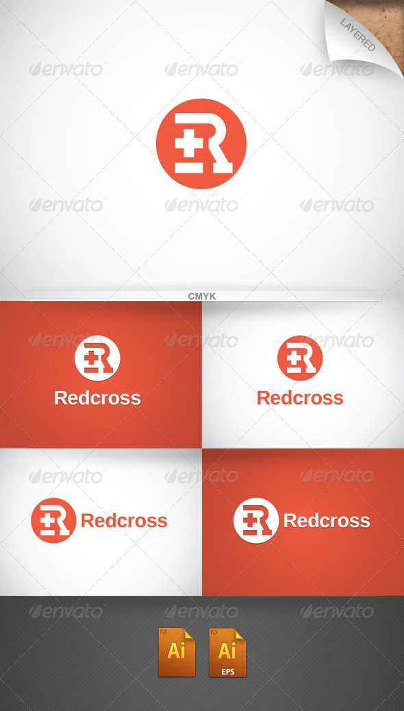 Redcross - Logo Design Template Download   graphicrivernet - pharmacy letter