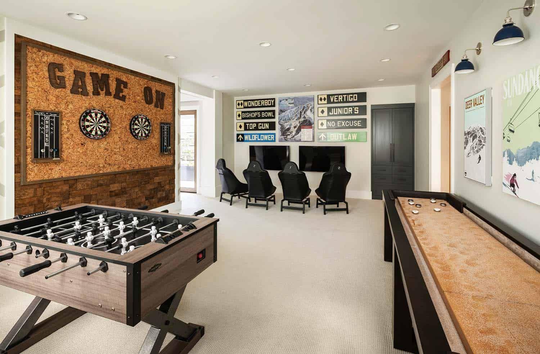 Dream House Tour Modern Design Meets Cozy Farmhouse Style In Utah Farmhouse Style Dream House Farmhouse Game Room