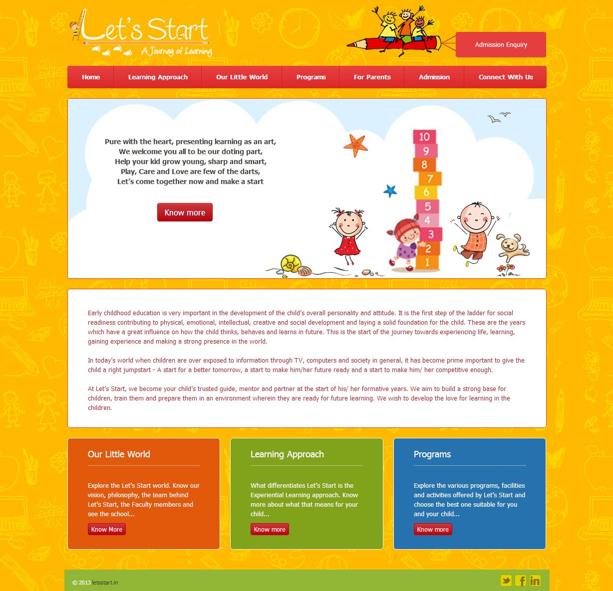 how to get your own website for free for kids
