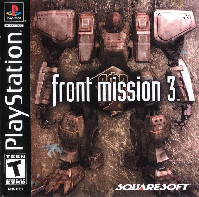 Front mission 3 psx iso rom download | Mechs & Robots | Playstation