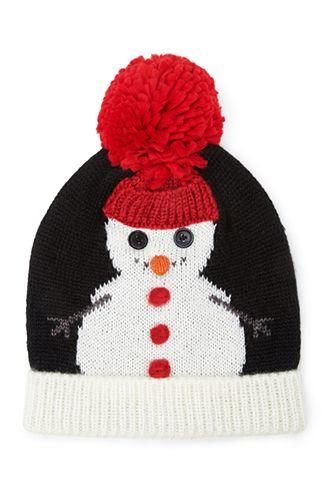 17edb2f8404d6 Snowman Pom Pom Beanie