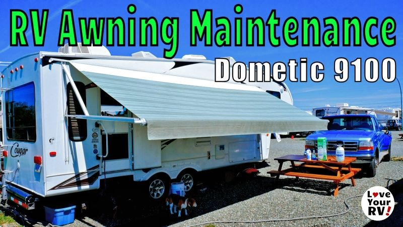 Rv Power Awning Super Easy Maintenance How To Diy Awning Rv Camping Tips Rv Trailers