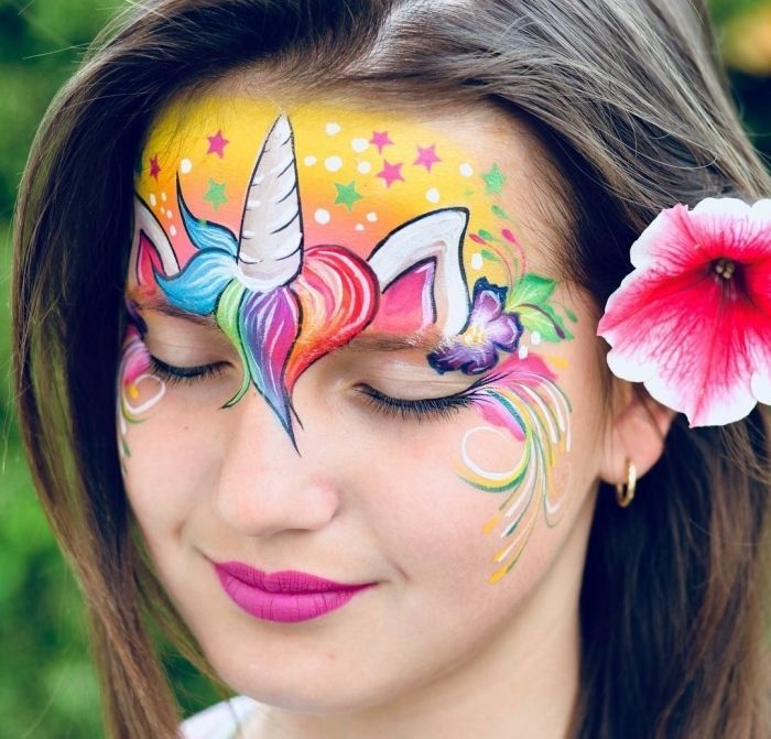 Photo of ▷ 1001 + ideas and pictures about unicorn face painting