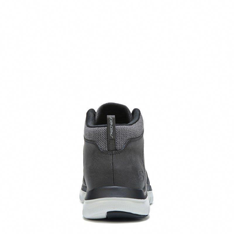5dde6acc579a Skechers Men s Flex Advantage Medium Wide Memory Foam Sneaker Boots (Black)   widemenssneakers