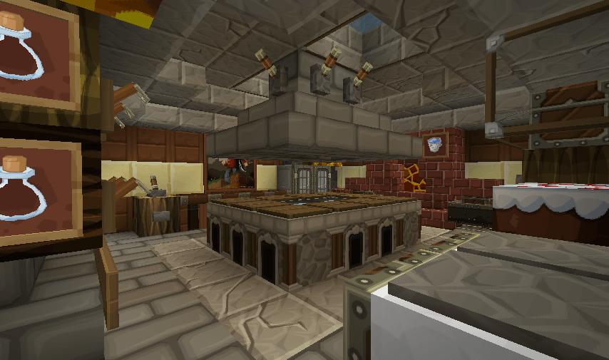 Minecraft Kitchen Minecraft Furniture Kitchen Modern Style Wooden