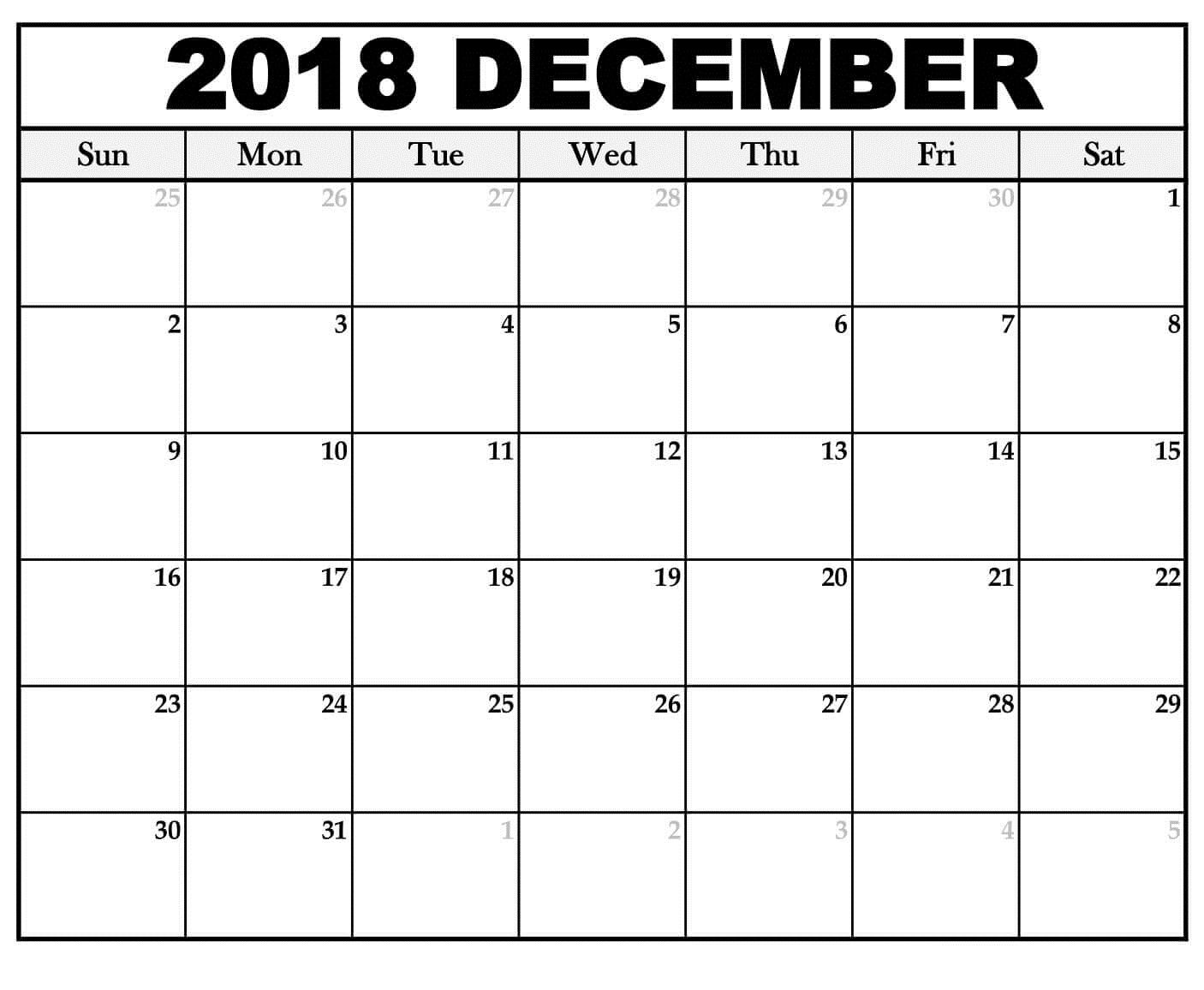december calendar template - Hizir kaptanband co