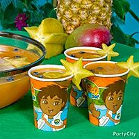 Jungle Juice Punch with Starfruit