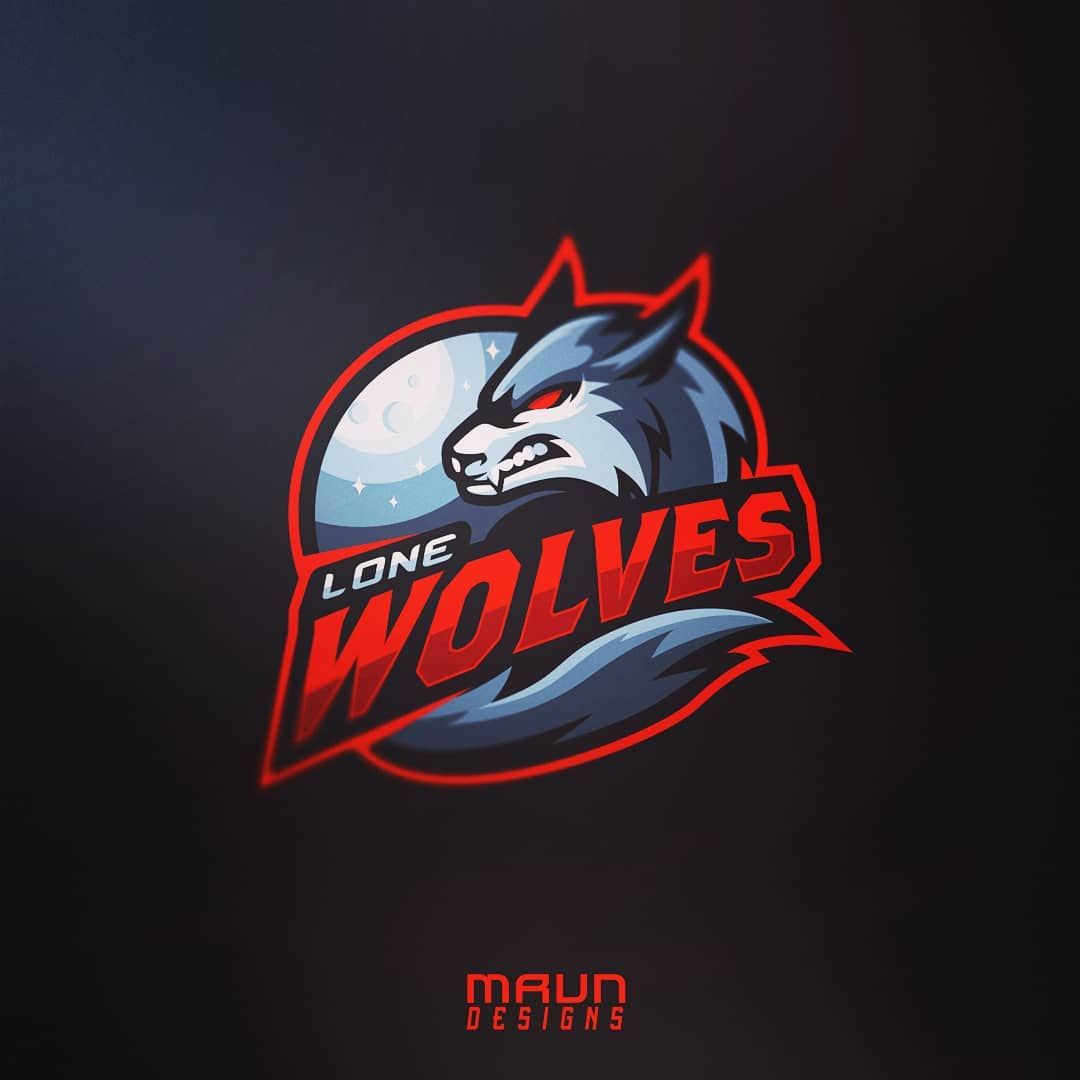 183 Likes 3 Comments Mrvndesigns On Instagram Wolf Mascot Logo Design Commissioned For A Team Called Lone Wolves In 2020 Sports Logo Design Logo Design Mascot