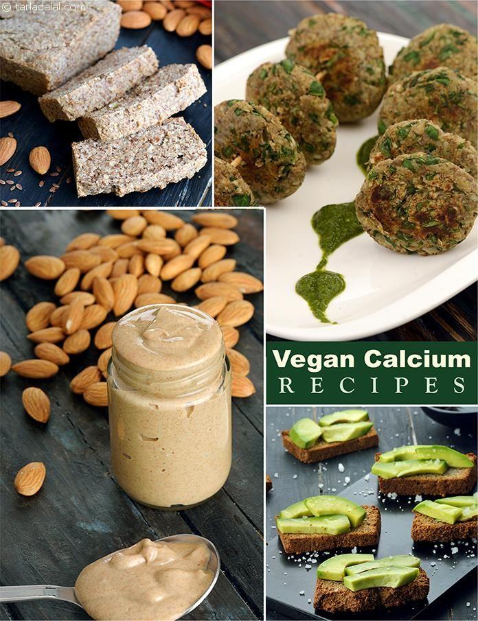 Vegan Calcium Rich Healthy Recipes, Veg Indian Recipes in