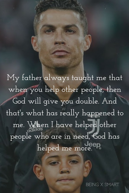 Cristiano Ronaldo Inspirational Quotes With Image Dream Success Father Football Inspirational Quotes With Images Ronaldo Quotes Cristiano Ronaldo Quotes