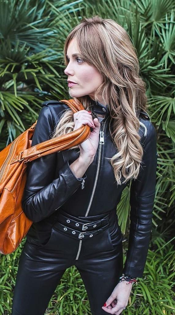 Tumblr | Kvinna, Läder, Skinn