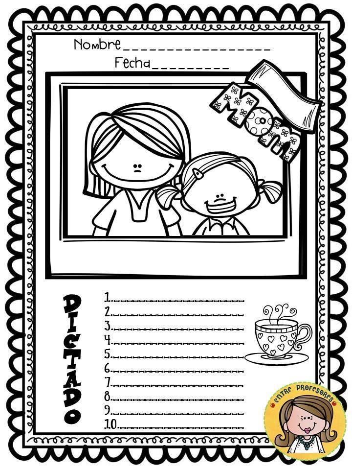 Plantillas para el dictado (27) | Dictado plantilla | Pinterest ...