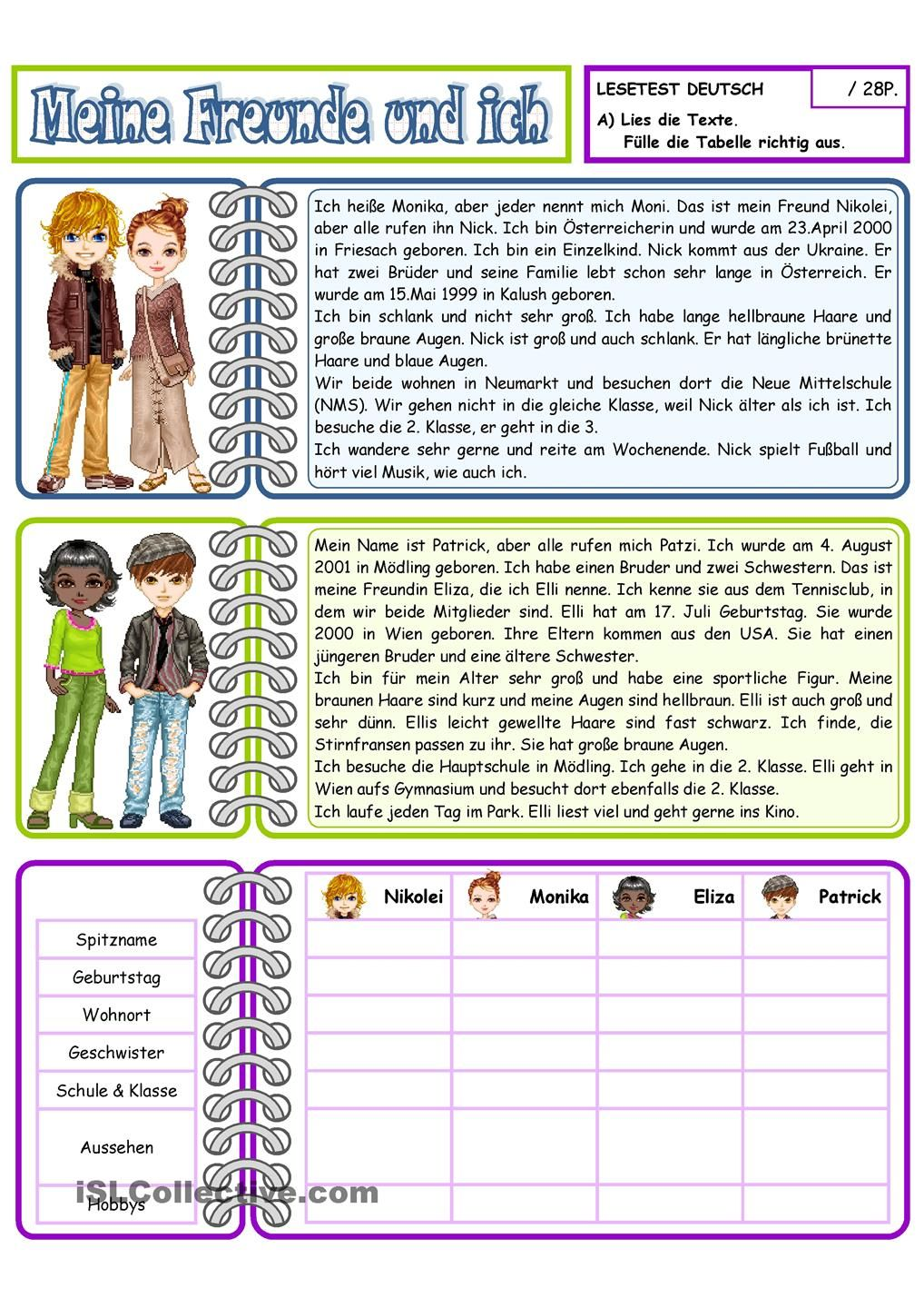 Pin By Anthony Moss On German Lesen German Language Learning German Language Learning German Worksheets