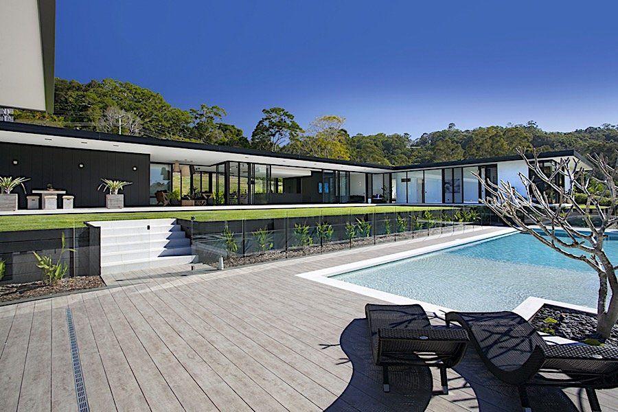 luxuriser minimalismus luftig stilvolle wohnwelten im glas haus australien dieses gebude wirkt - Buro Zu Hause Mit Seestuckunglaubliche Bild