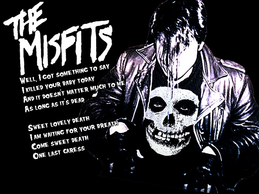 misfits the inspiration for #Metallica and others -- I was able to ...