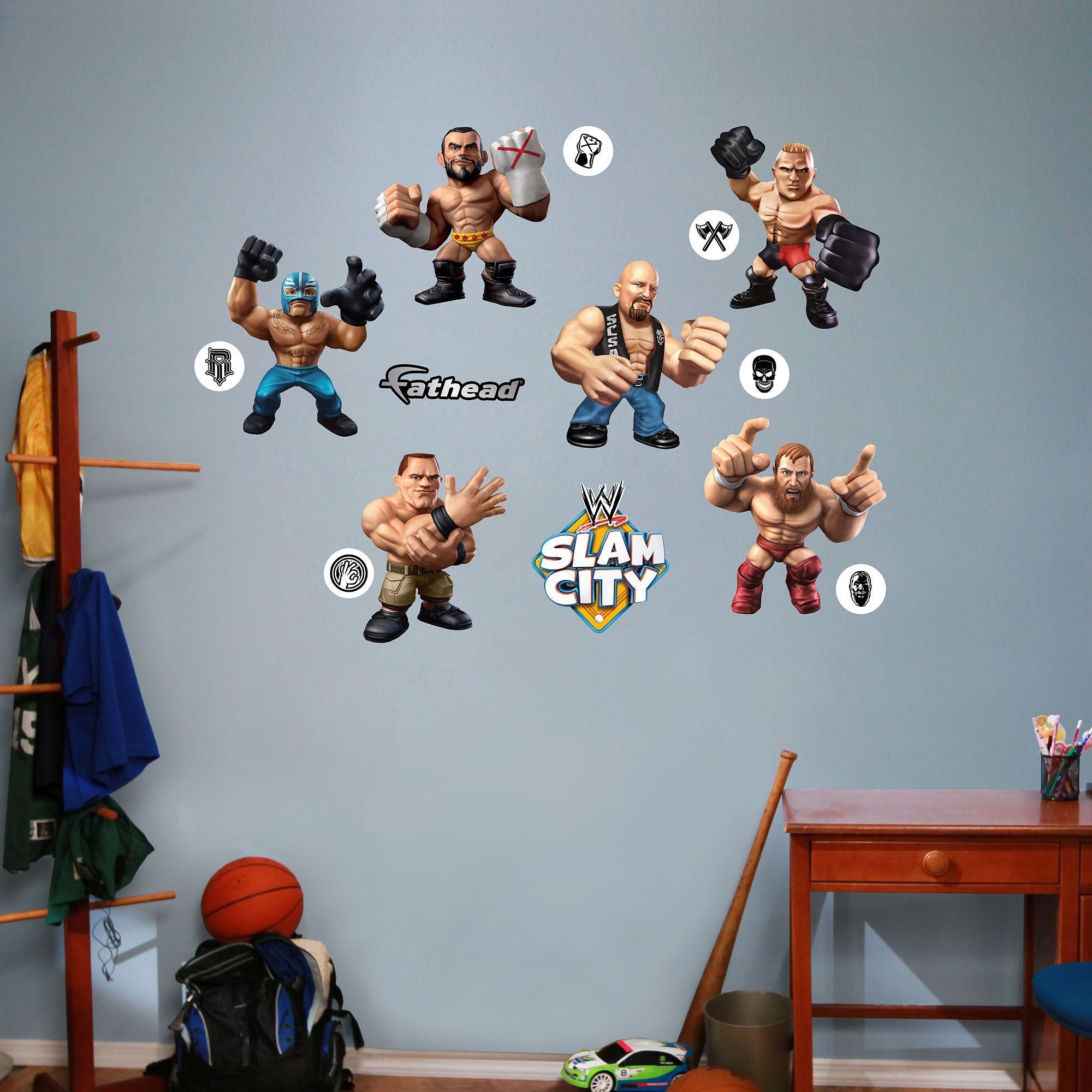 Slam City Collection | Zack and Noah\'s wwe room | Pinterest