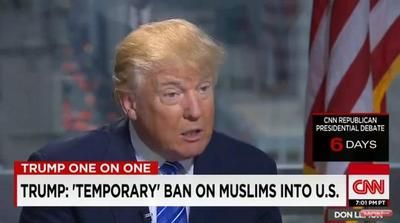Full Video: Donald Trump CNN Interview with Don Lemon on Muslim Travel Ban Controversy #DonaldTrump #Trump