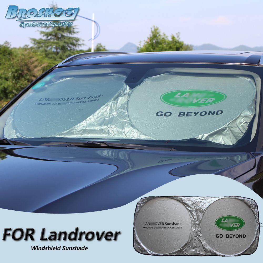 BROSHOO Car Windscreen Sunshade Front Window Sun Shade Windshield Visor  Cover For Land Rover Range Rover f4552e9e924