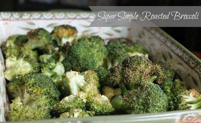 Super Simple Roasted Broccoli Recipe Broccoli Recipes Side Dish Roasted Broccoli Recipe Broccoli Side Dish