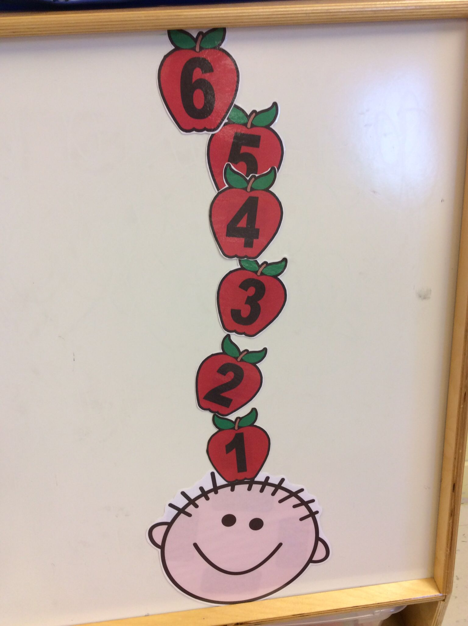 Ten Apples Up On Top Math Activity Group Activity Or For