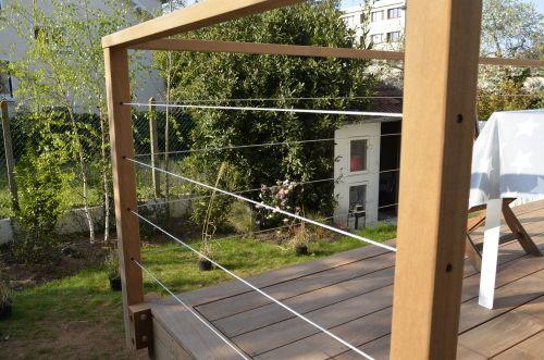 monter une grade fou sur ma terrasse sur pilotis pinteres. Black Bedroom Furniture Sets. Home Design Ideas