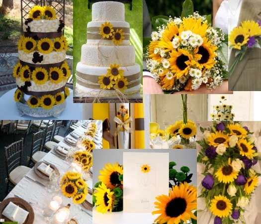 Sunflower Wedding Favor Ideas: ... Weddingtv.com/ideas-and