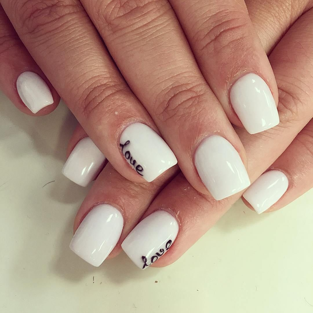 23 Simple Nail Designs For Short Nails With Images Simple Nail Designs Short Nail Designs Trendy Nails